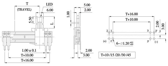 电位器-直滑式电位器-电位器尽在阿里巴巴-厦门宝德